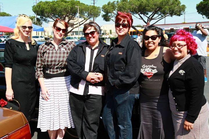 Current members: Pati, Kristin, Rochelle, Jen, Rosa, and Jessie.