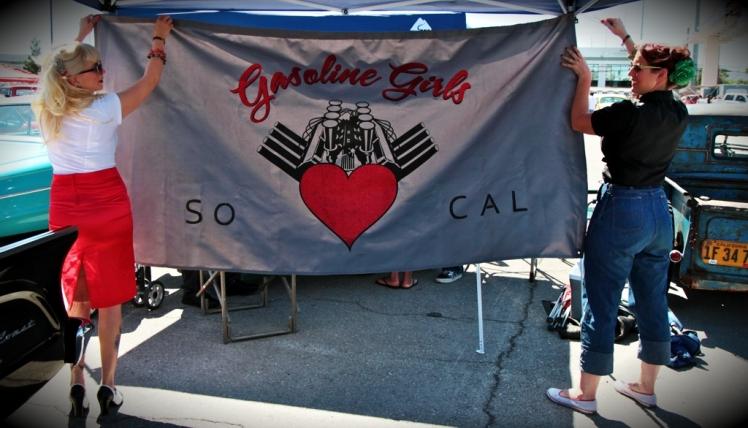 7.Gasoline Girls Car Club at VLV 2011