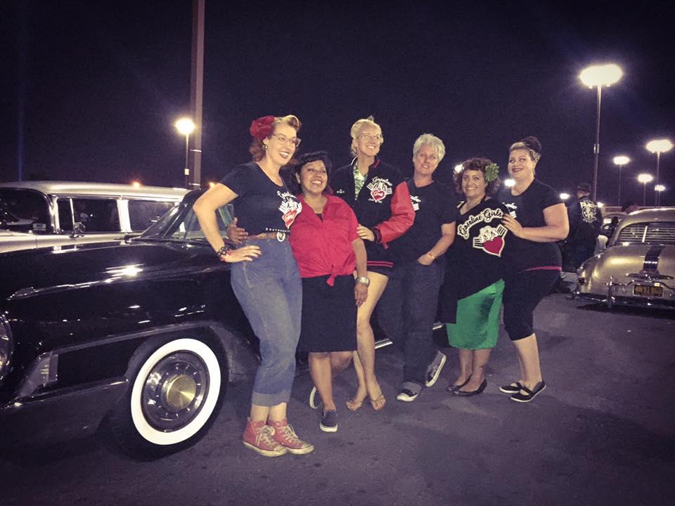 Gasoline Girls Car Club Members